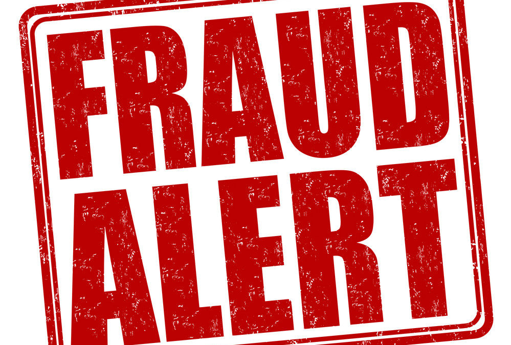 Fraud Alert! May 2019